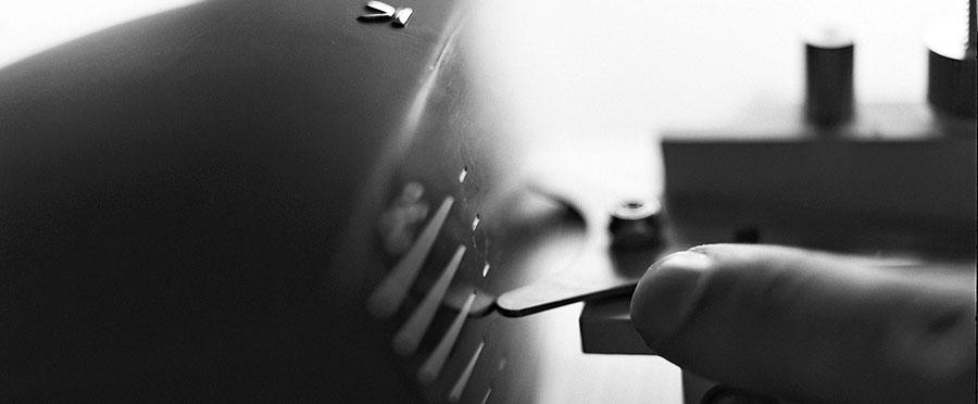 Schlägersatz vermessen und anpassen